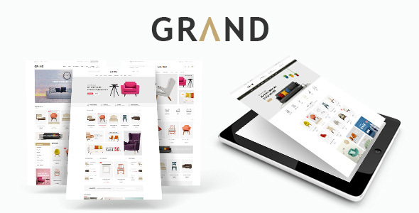 Grand - Responsive Furniture WooCommerce WordPress Theme - WooCommerce eCommerce TFx Jarred Rastus