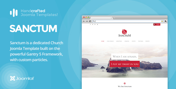 IT Sanctum - Gantry 5, Church & Nonprofit Joomla Template - Churches Nonprofit TFx Chance Branson
