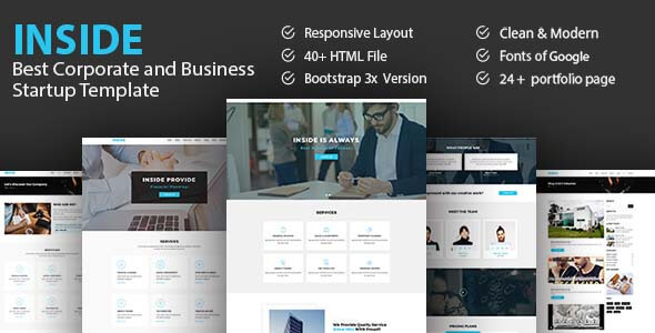 Inside - Best Corporate And Business Startup Template - Business Corporate TFx Urban Ricki