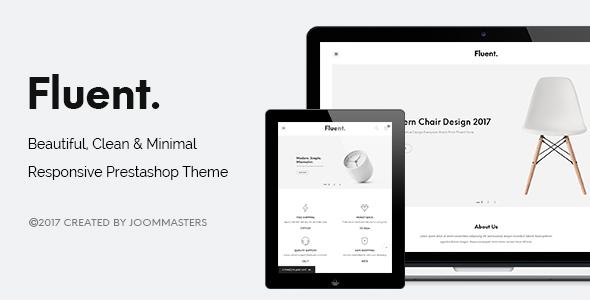 JMS Fluent - Creative Multi-popurse Prestashop Theme - PrestaShop eCommerce TFx Coy Esmund