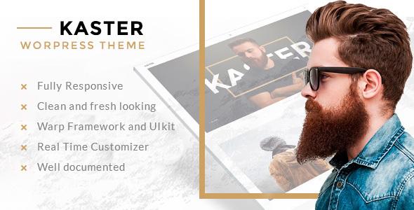 Kaster — Creative Portfolio WordPress Theme - Miscellaneous WordPress TFx Fox Kennard