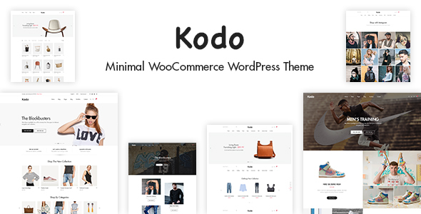 Kodo - Minimal Responsive WooCommerce Theme - WooCommerce eCommerce TFx Jirou Bart