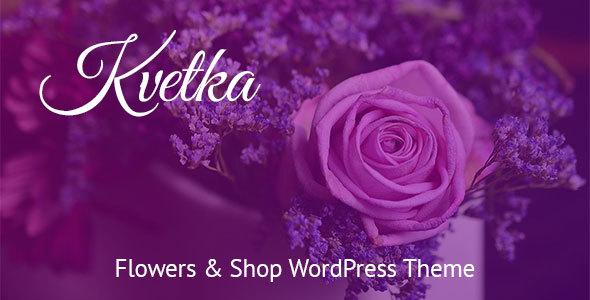 Kvetka - Flowers WordPress Theme - Retail WordPress TFx Evander Denver