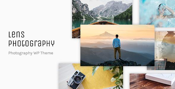 Lens Photograpy - Photography Portfolio WordPress Theme - Photography Creative TFx Camron Nerses