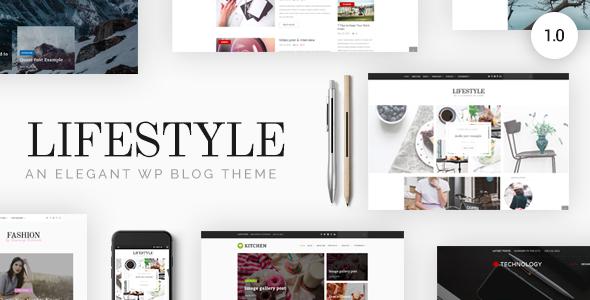 Lifestyle - Responsive WordPress Blog Theme - Personal Blog / Magazine TFx Darien Jack