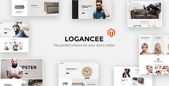 Logancee - Premium Magento 2 Theme - Magento eCommerce TFx Walter Winfred