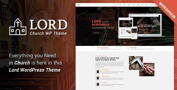 Lord - Church WordPress Theme - Churches Nonprofit TFx Bryon Happy