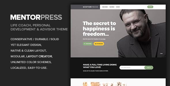 MentorPress - Life Coach, Personal Development & Advisor theme - Miscellaneous WordPress TFx Griffin Garry