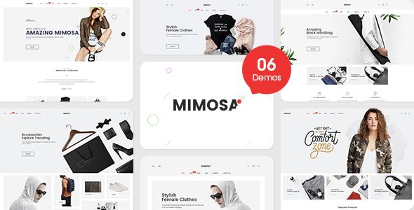 Mimosa - Responsive Fashion Magento 2 Theme - Fashion Magento TFx Vern Cassidy