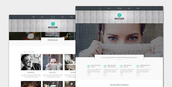 Motion - Film and Movie WordPress Theme - Film & TV Entertainment TFx Greyson Grenville