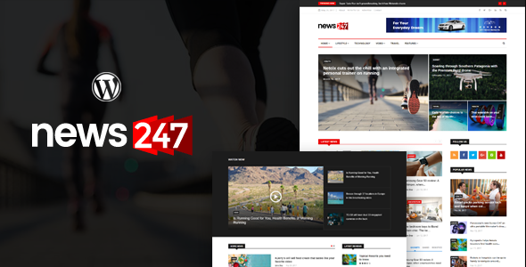 News247 - News Magazine WordPress Theme - News / Editorial Blog / Magazine TFx Bryant Ollie