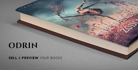 Odrin - Book Selling WordPress Theme for Writers and Authors - Corporate WordPress TFx Carlton Taro