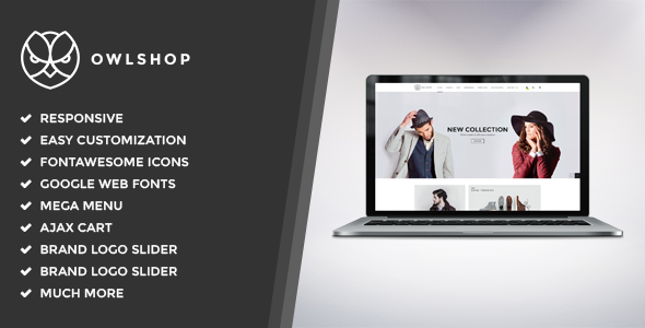 Owlshop - Minimalist Ecommerce Shopify Theme - Fashion Shopify TFx Kyler Geoffrey