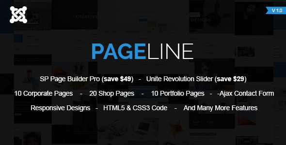 PageLine – Multi-Purpose Joomla Theme With Page Builder – Joomla CMS Themes TFx Benjamin Mattie