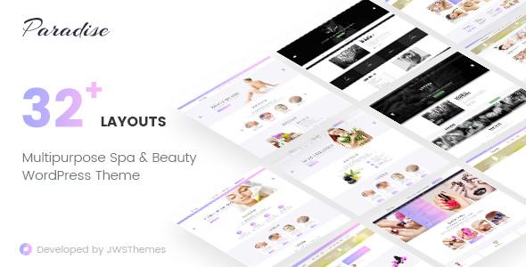 Paradise - Multipurpose Spa & Beauty WordPress Theme - Health & Beauty Retail TFx Domenic Ryuunosuke