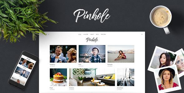 Pinhole - WordPress Gallery Theme for Photographers - Photography Creative TFx Cherokee Braeden