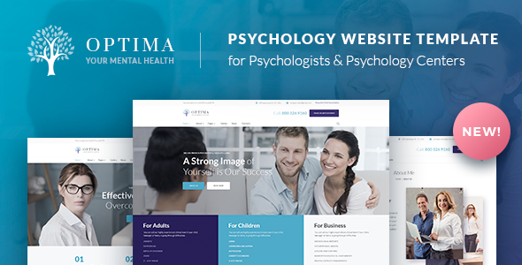 Psychologist & Psychology Center HTML Template – Optima – Health & Beauty Retail TFx Page Jerrard