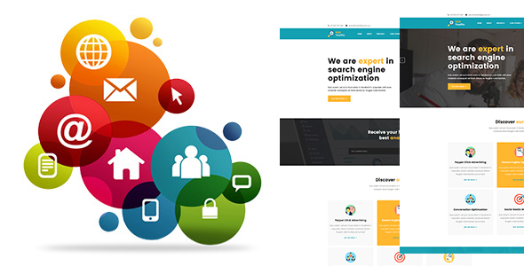 SEO TRAFFIC - Internet Marketing and SEO HTMl5 Template - Corporate Site Templates TFx Gene Chauncey