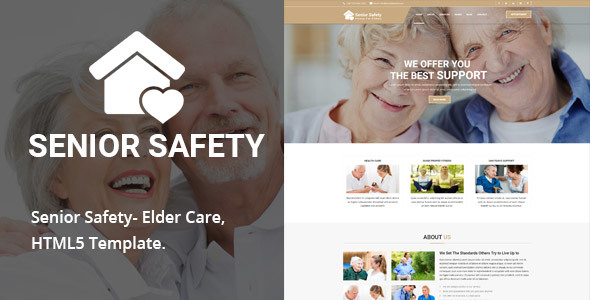 Senior Safety – Senior Security HTML5 Template – Health & Beauty Retail TFx Jonathan Lennox