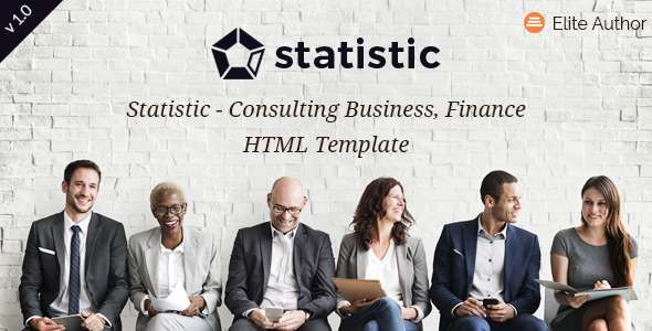 Statistic - Professional Business WordPress Theme - Business Corporate TFx Jaycob Dirk