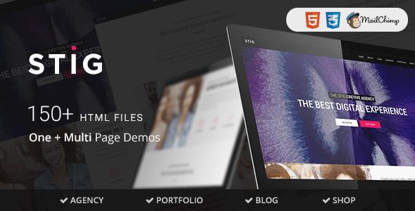 Stig - Multipurpose One/Multi Page Joomla Template - Portfolio Creative TFx Leopold Eduard