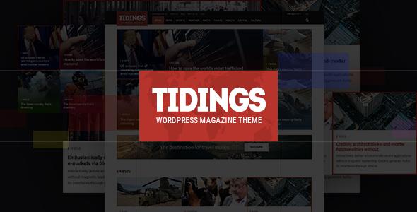 Tidings - WordPress Magazine Theme - Blog / Magazine WordPress TFx Norbert Esmé
