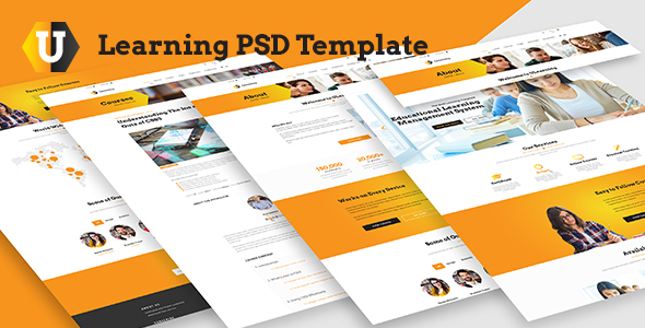 U Learning PSD Template - Miscellaneous PSD Templates TFx Greg Ned