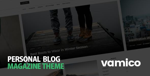 Vamico - Personal Blog & Magazine WordPress Theme - Personal Blog / Magazine TFx Pliny Burton