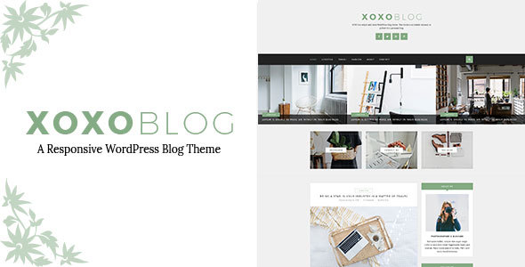 XOXO - Simple & Clean WordPress Blog Theme - Personal Blog / Magazine TFx Jem Horace