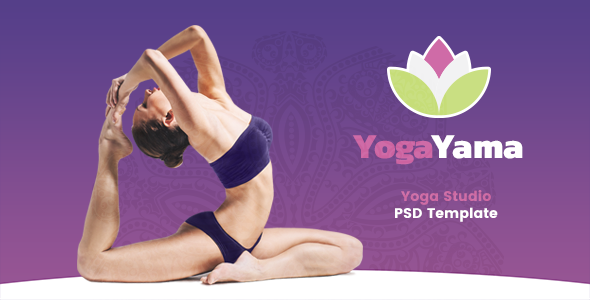YogaYama - Yoga Studio PSD Template - Health & Beauty Retail TFx Nevil Farran