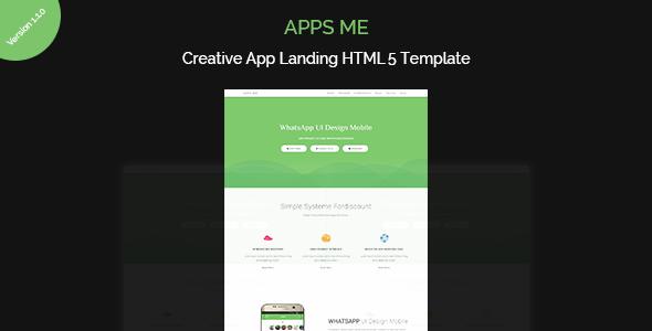 apps me | App Landing Page - Site Templates  TFx Kenton Barrett