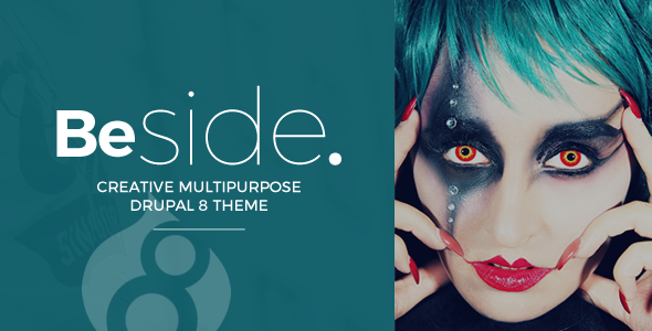 Beside Creative Multipurpose Drupal 8 Theme - Drupal CMS Themes TFx Shiori Amyas