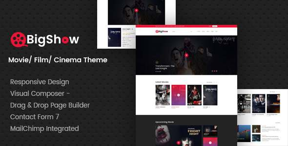 BigShow - WordPress Cinema & Movie Theme            TFx Shikoba Hilary