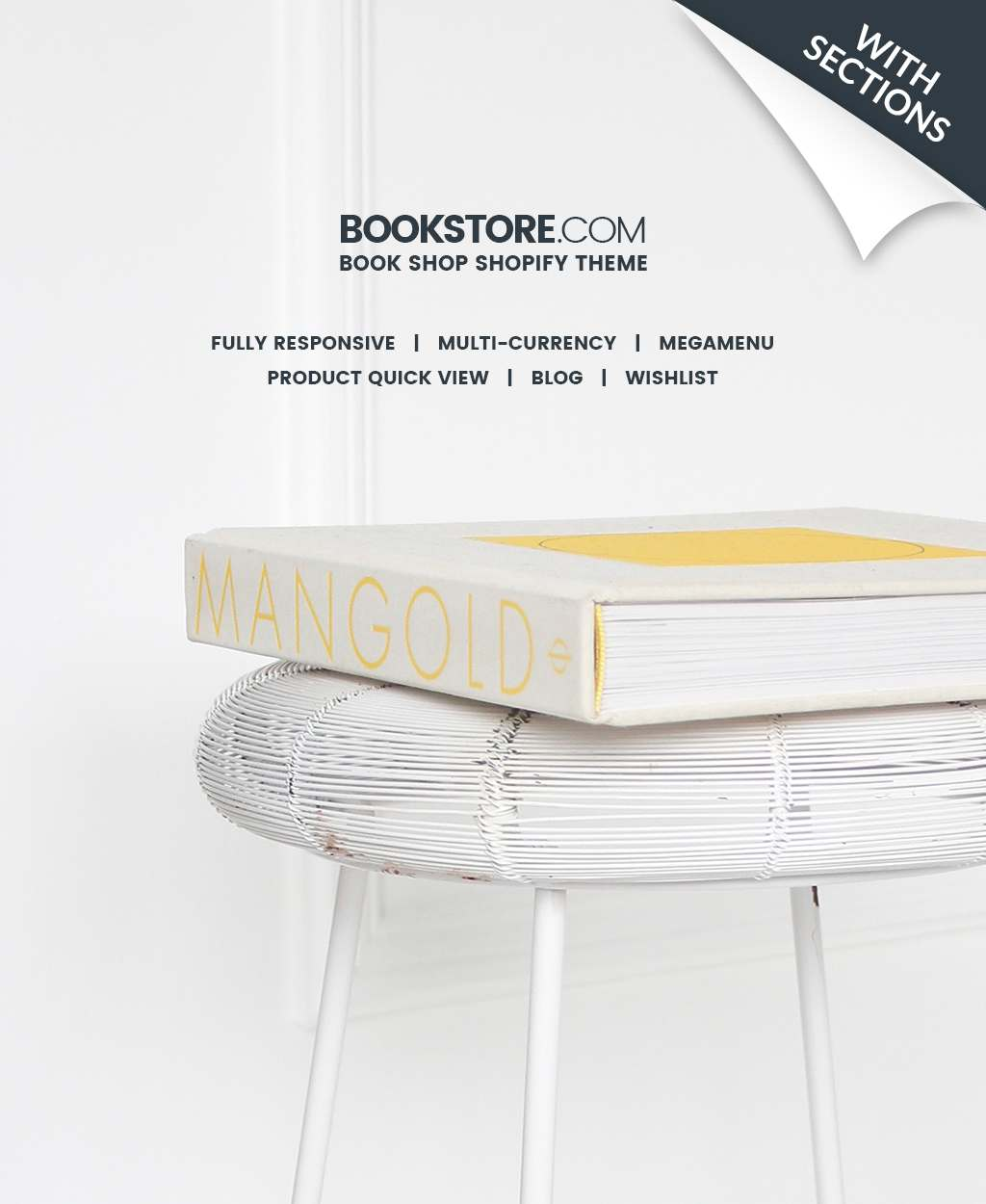 Books Responsive Shopify Theme TMT Jerred Shanon