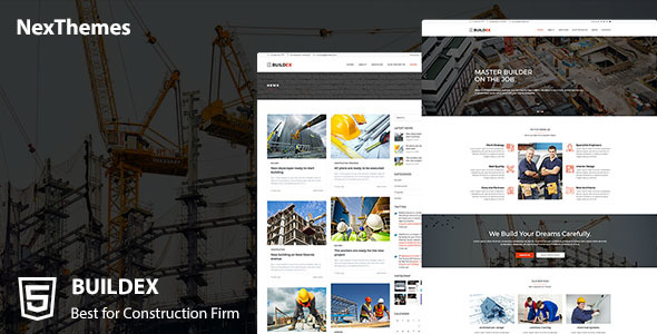 Buildex a Construction Company HTML Template            TFx Abner Stacey