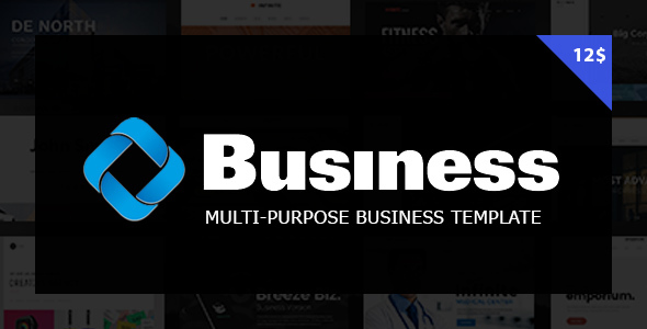 Business | Multi-Purpose Business & Consulting website template - Business Corporate TFx Shaihei Canute