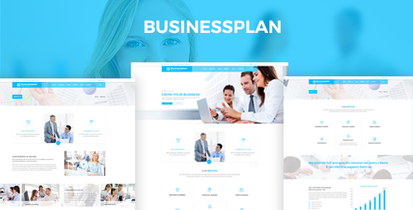 Businessplan – Training, Coaching, Consulting & Business PSD Template            TFx Barnabas Blaze