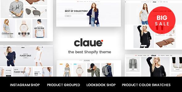 Claue - Clean, Minimal Shopify Theme - Shopify eCommerce TFx Dunstan Cleveland
