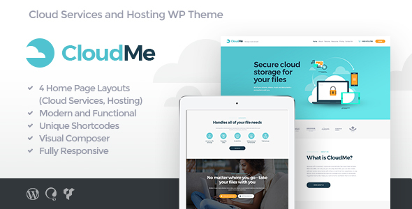 CloudMe | Cloud Storage & File-Sharing Services - Technology WordPress TFx Geoffrey Colin