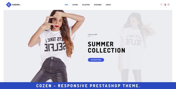Cozen - Prestashop Fashion Theme            TFx Tanner Neville
