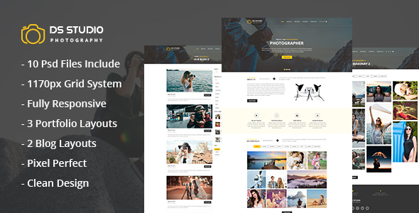 DS Studio Psd Template For Photography            TFx Arif Deon