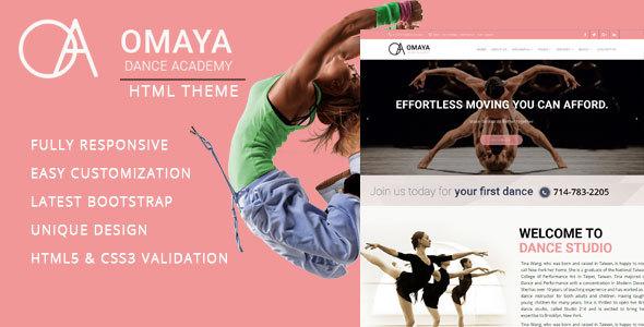 Dancing School - HTML Template - Creative Site Templates TFx Gib Wibowo