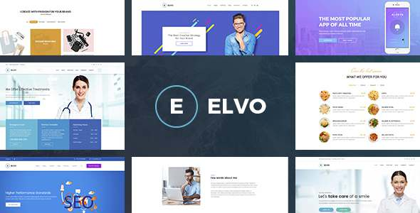 ELVO – Business Multipurpose PSD Template            TFx Garret Devin