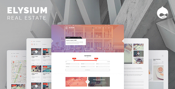 Elysium — Real Estate Drupal Theme - Retail Drupal TFx Chase Sampson
