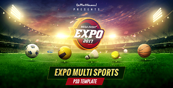Expo - Multi Sports Event PSD Template            TFx Maverick Laird