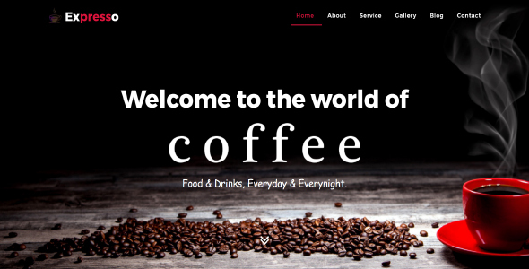 Expresso - Cafe HTML Template            TFx Barclay Haik