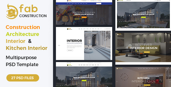 Fab Construction - PSD Template            TFx Cahyo Kiefer
