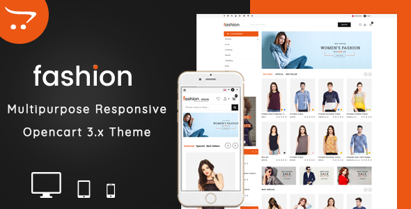 Fashion 3.0.X Opencart MultiPurpose Responsive Theme            TFx Deon Zac