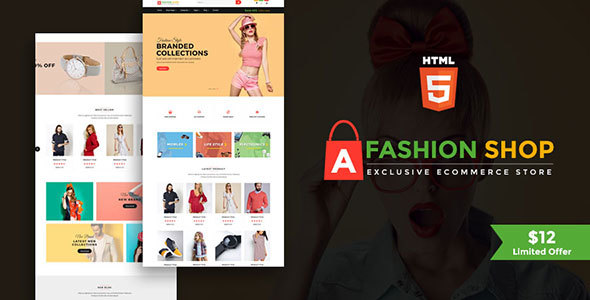 Fashion Shop - Multipurpose Ecommerce Responsive Html Template            TFx Nobuyuki Bristol