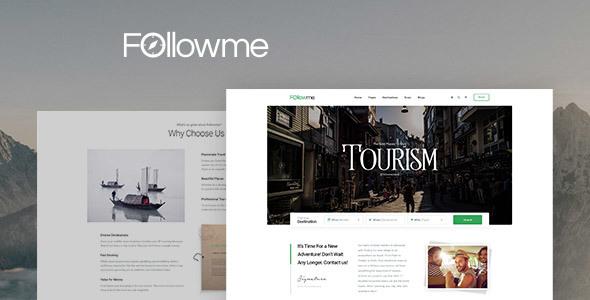 Followme - Tour Booking WordPress Theme            TFx Royle Dick